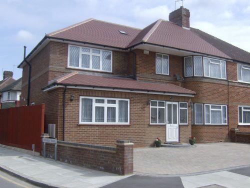 Rkb son building services ltd builder in wembley uk for Front porch extension