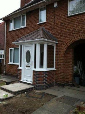 Glaze rite double glazing repairs company in birmingham for Double glazed porches
