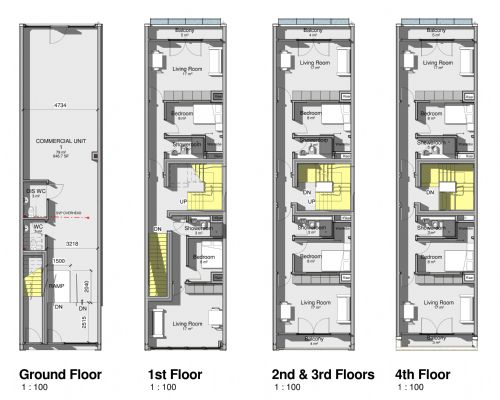 Dlp architecture ltd architectural design consultancy in for Commercial floor plans free
