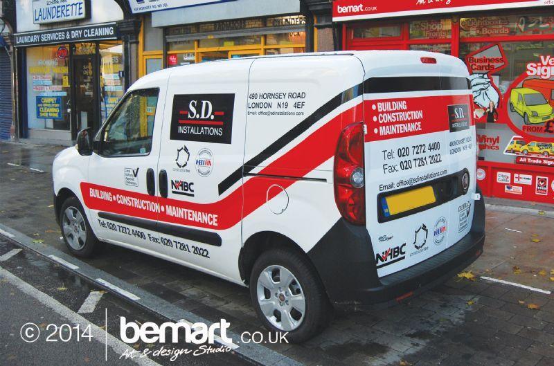 Bemart Sign amp Print Maker In Hornsey Rise London UK