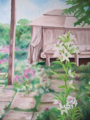 Garden Commission - Artists Oswestry