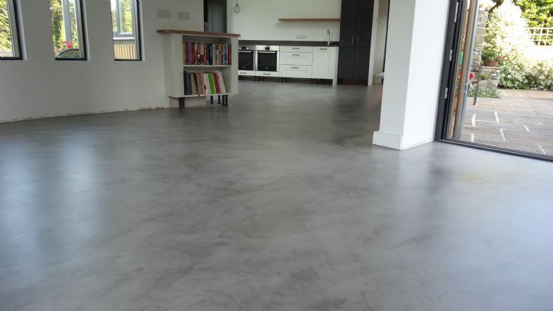 Image Result For Staining Cement Floors