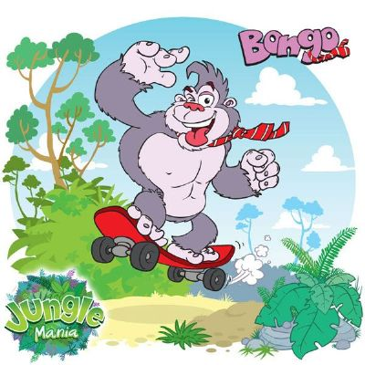 Junglemania Character Design 'Bongo' - Cartoonists Hastings