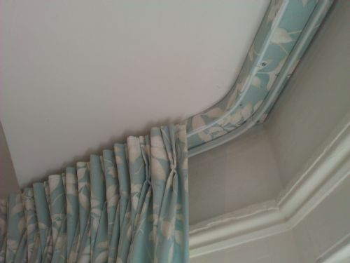 professional curtain installations