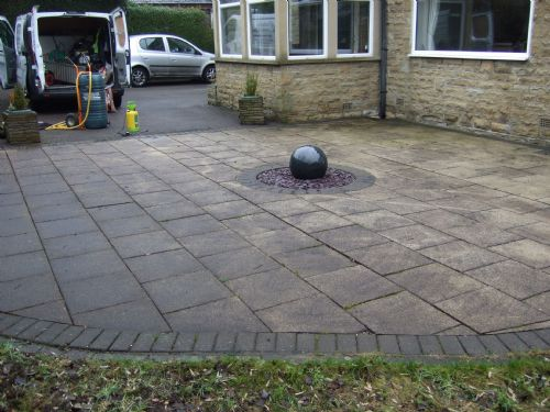 Yorkshire driveway cleaning sealing services pressure for Driveway cleaning companies