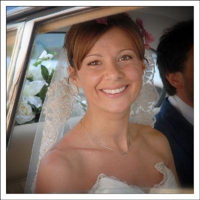 Summer Bride. Norma Dean Photography logo - NCDWEB