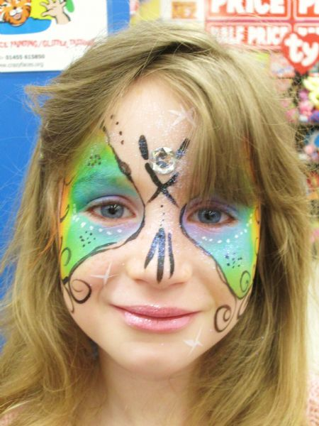 Crazy Faces Professional Face Painter Glitter Tattoo