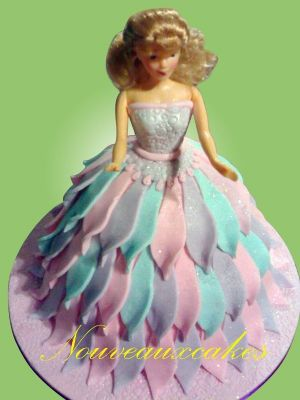 Princess Dolly Cake - Cake Designers Bromley