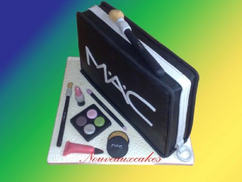 Mac make up bag cake. - Cake Designers Bromley