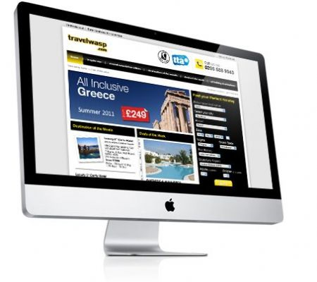 Travelwasp website - Website Design Companies Camberley