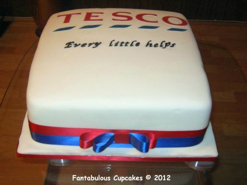 Create Your Own Birthday Cake Tesco