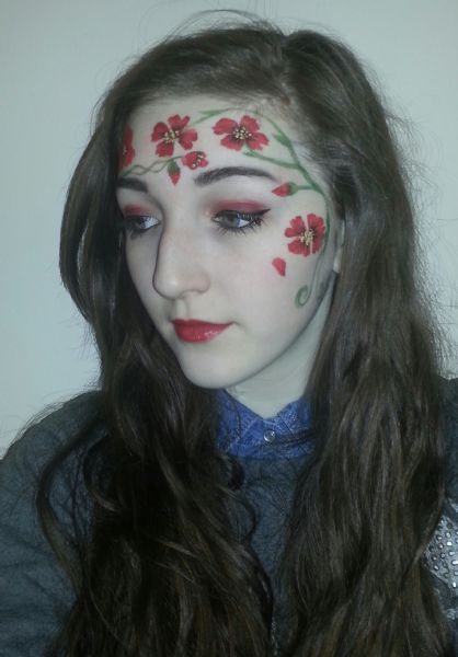 face art « Nyachii's Blog   Face Couture Inspiration in ...