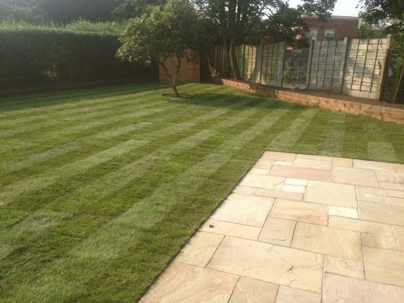 Garden Boundaries Landscape Gardener In Altrincham Uk
