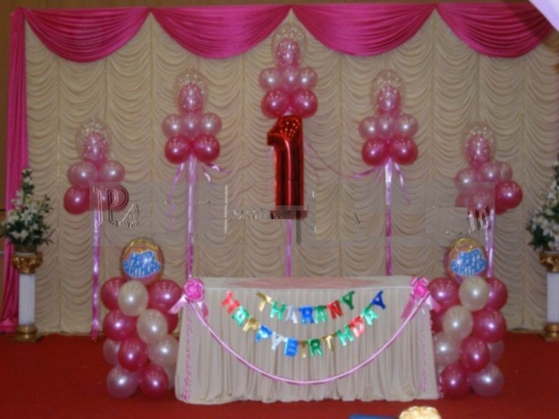 Hooray entertainment children 39 s entertainer in stockwell for 1st birthday hall decoration