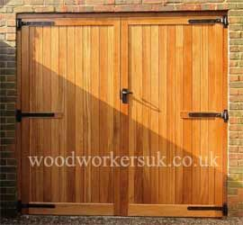 Gate expectations by inwood cymru ltd gate for Wood garage door manufacturers
