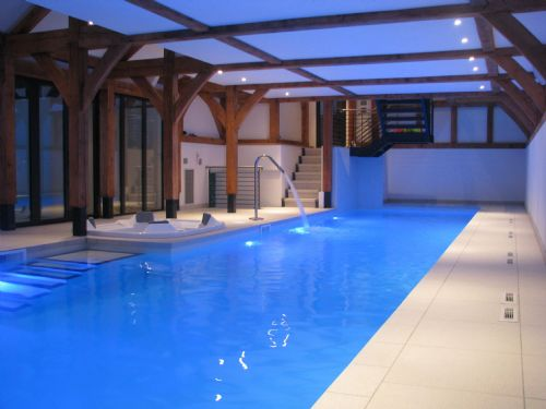 Basement swimming pool installation. - Swimming Pool Construction Companies Warrington