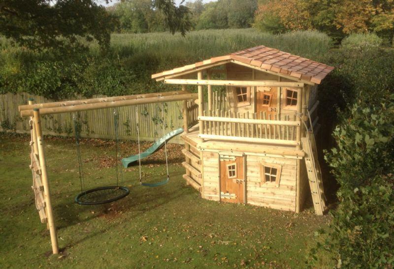 Huubiebuild Bespoke Playframes Amp Treehouses Treehouse