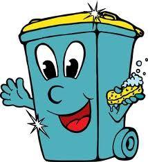 how to clean your wheelie bin