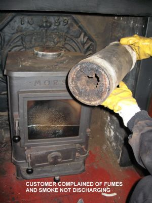 Blocked flues are potential killers.Is your home SAFE? - Chimney Sweeps Orpington
