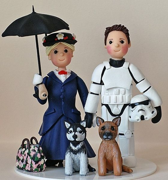 Shantels Cake Toppers - Wedding Cake Maker in Exmouth (UK)