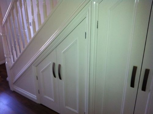 understairs cupboard door ideas 3