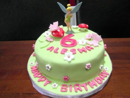 Tinkerbell birthday cake - Occasion Cake Makers Chessington