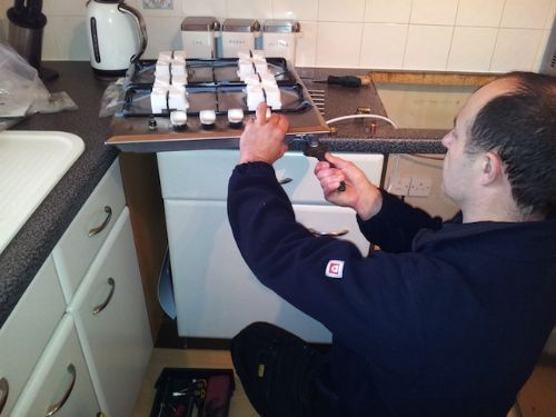 Gas hob fitting - Gas Fitters Bristol