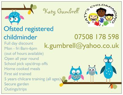 Childminding business plan