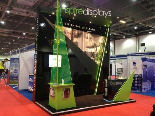New Exhibition Stand Technology : Inspire displays ltd exhibition stand designer in