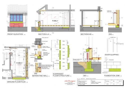 Garage Conversion Details. Ace Designs  Scotland   amp  Maz Plans   Architectural Service in