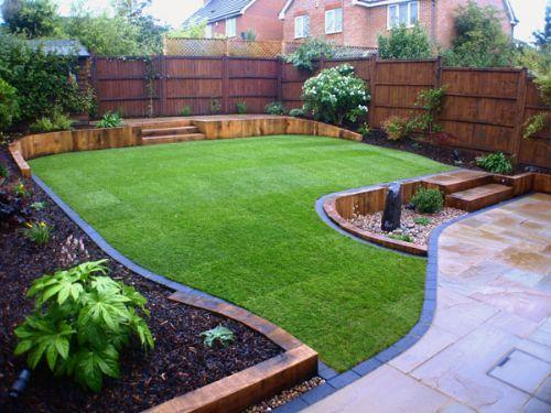 Outer space garden designer in northampton uk for Outer garden