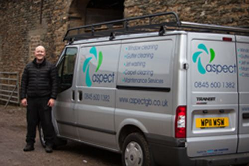 Aspect Window Cleaner In Low Moor Bradford Uk