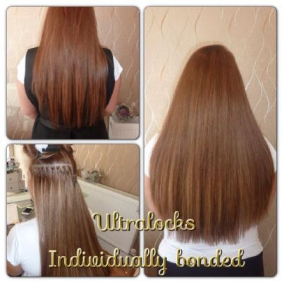 Extra Thick Pre Bonded Hair Extensions 52