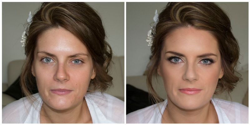 Bridal Makeup Pictures Before And After : Bridal and Beyond - Makeup Artist in Shrewsbury (UK)