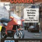 Motorcycle Couriers - TW Motorcycle Courier