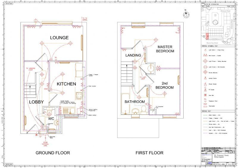 house wiring diagram examples uk house wiring diagrams
