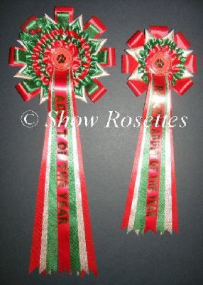 christmas rosettes uk