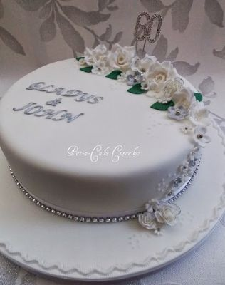 Cake Designs For Diamond Wedding : Pat-a-Cake Cupcakes - Wedding Cake Maker in Penwortham ...