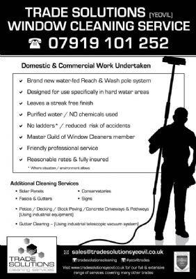 Trade Solutions Yeovil Window Cleaner In Yeovil Uk
