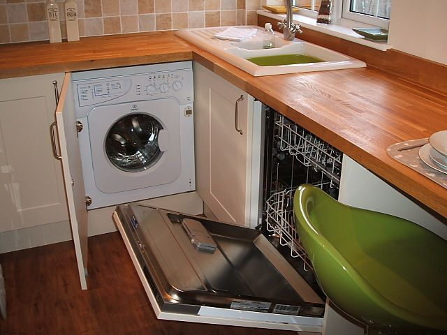 integrated appliances installed