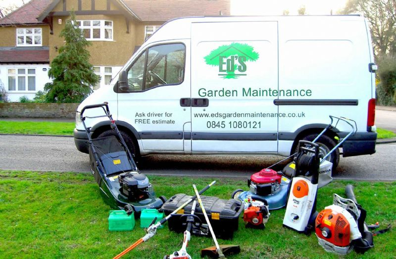 eds garden maintenance gardener in hampton uk