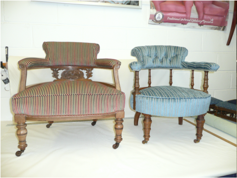 Upholstery craft training centre scotland upholsterer in for Furniture upholstery course
