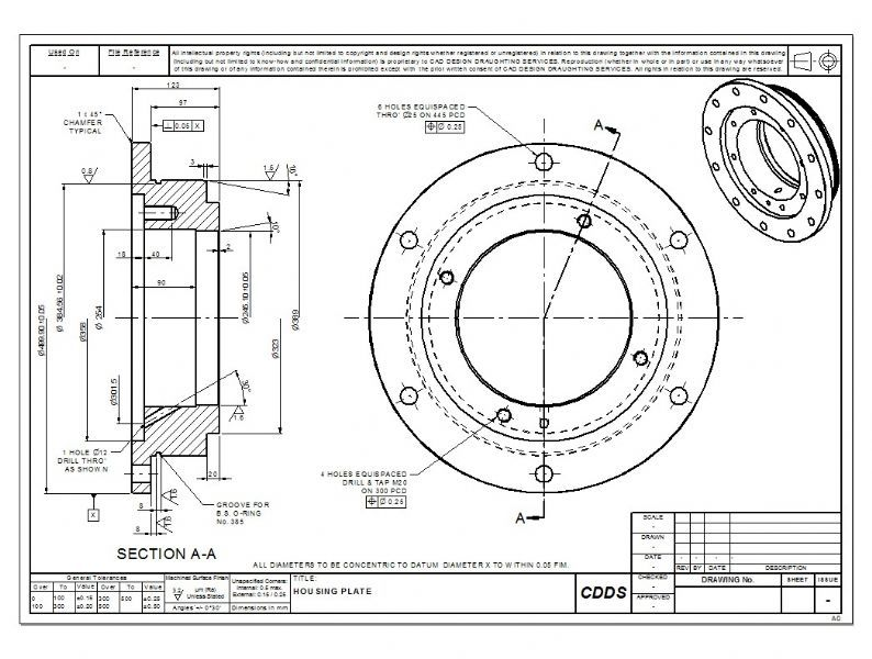 cad design draughting services