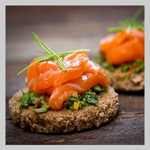All in hand catering catering company in chelsea london for Cold canape menu