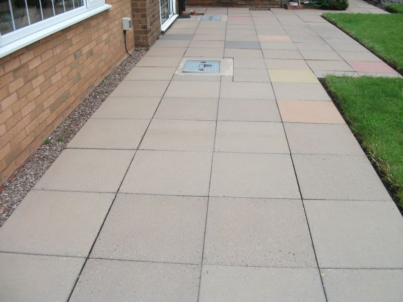 Mfw cleanseal driveway cleaning company in stafford uk for Driveway cleaning companies