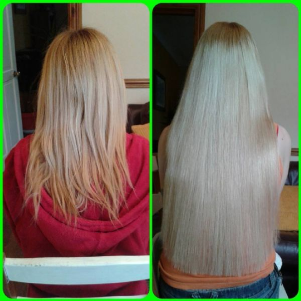 22 Inch Tape Hair Extensions Before And After Remy Hair Review