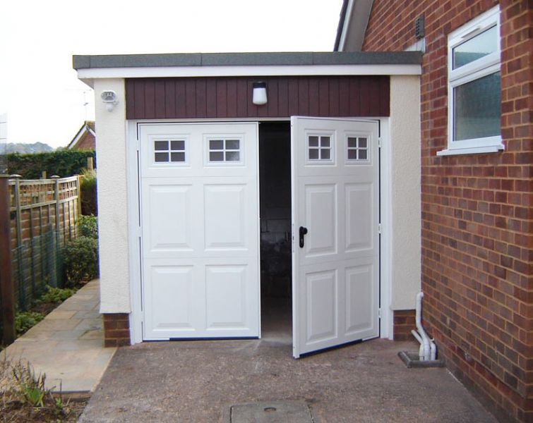 S d garage doors limited garage door company in Garage with doors on both sides