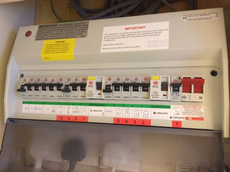 Electrical Fuse Boards Fuse Board Upgrade
