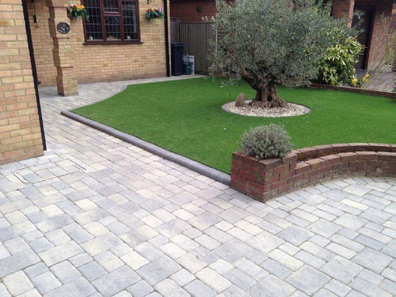 Warrington Block Paving Pattern Imprinted Concrete
