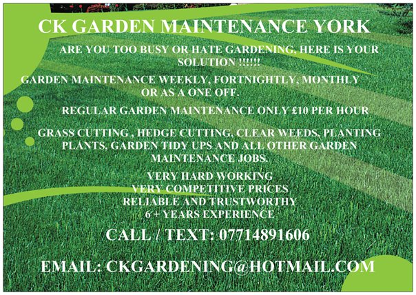 Ck garden maintenance home and garden maintenance for Garden maintenance jobs